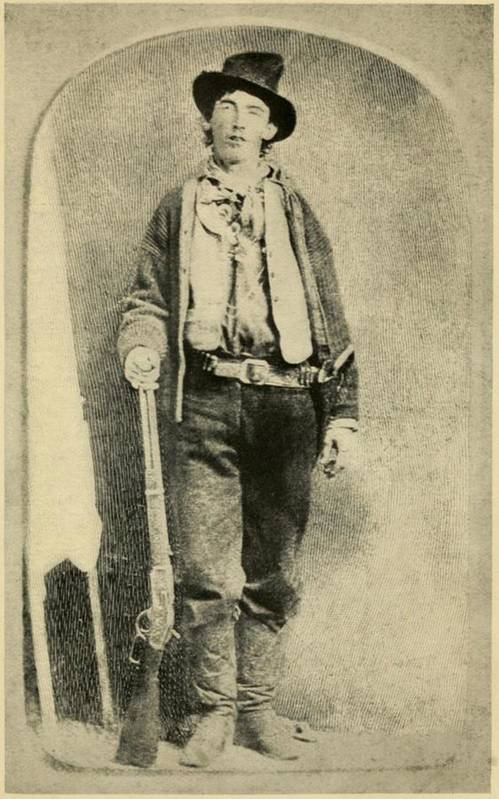 History Print featuring the photograph Billy The Kid 1859-81, Killed Twenty by Everett