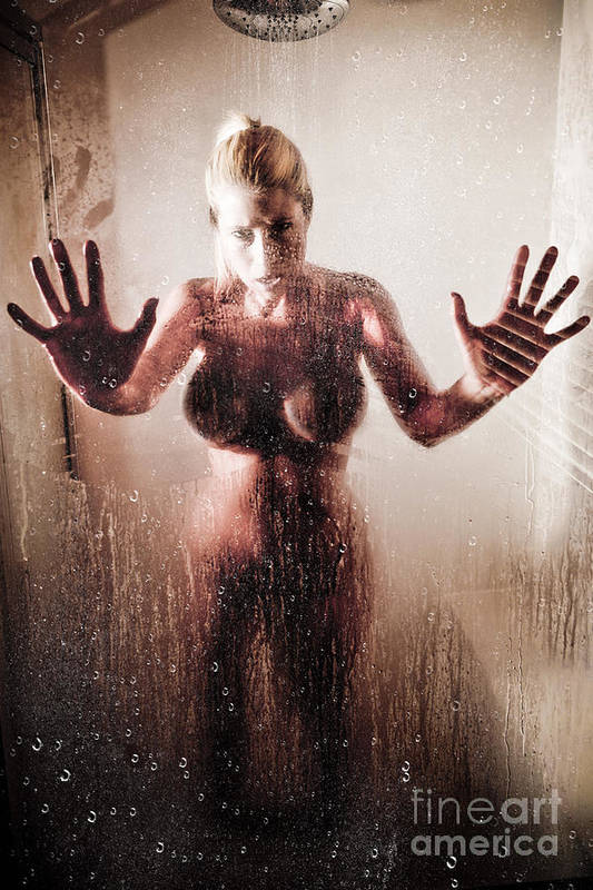 Art Print featuring the photograph Hot Shower by Jt PhotoDesign
