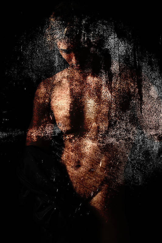 Male Nude Print featuring the photograph Classic by Mark Ashkenazi
