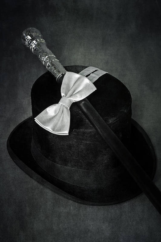Top Hat Print featuring the photograph Gentleman by Joana Kruse