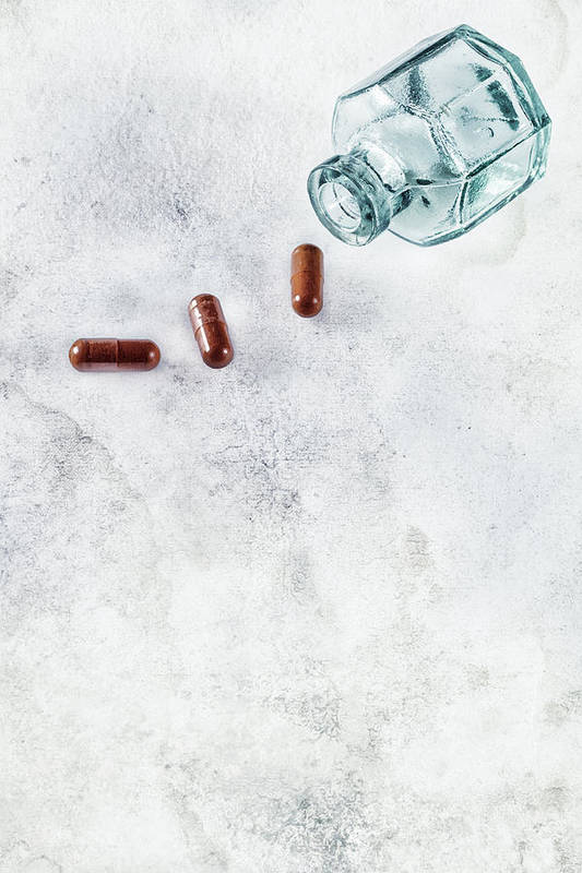 Pill Print featuring the photograph Get Well Soon by Joana Kruse