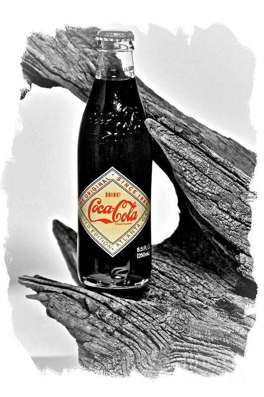 Limited Edition Bottles Print featuring the photograph Limited Edition Coke - No.15 by Joe Finney