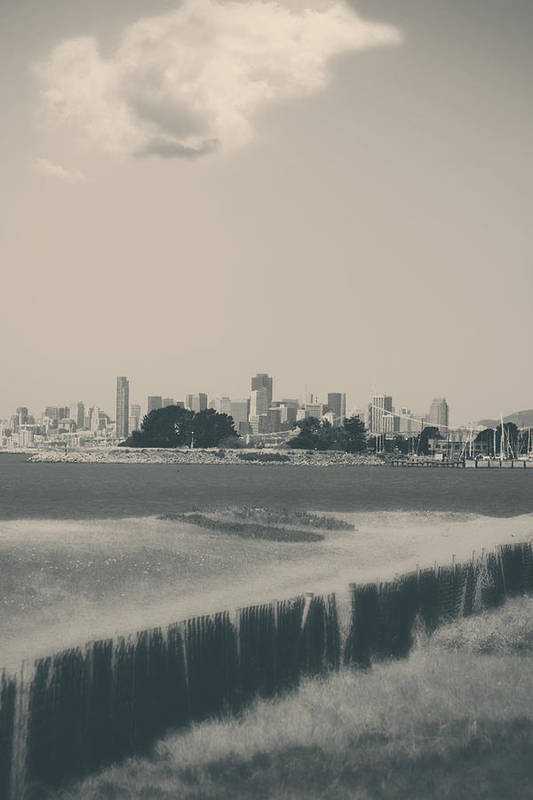 San Francisco Print featuring the photograph My Mind Knows No Quiet by Laurie Search