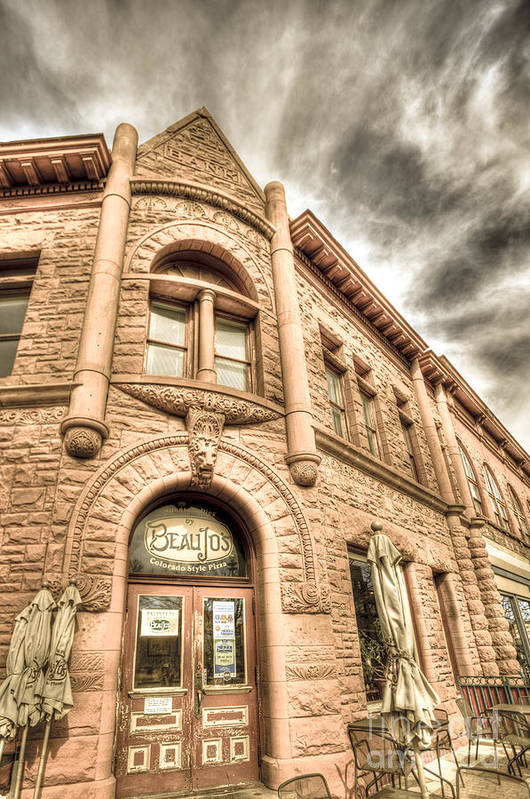 Fort Collins Print featuring the photograph Old Town Sandstone by JulieannaD Photography