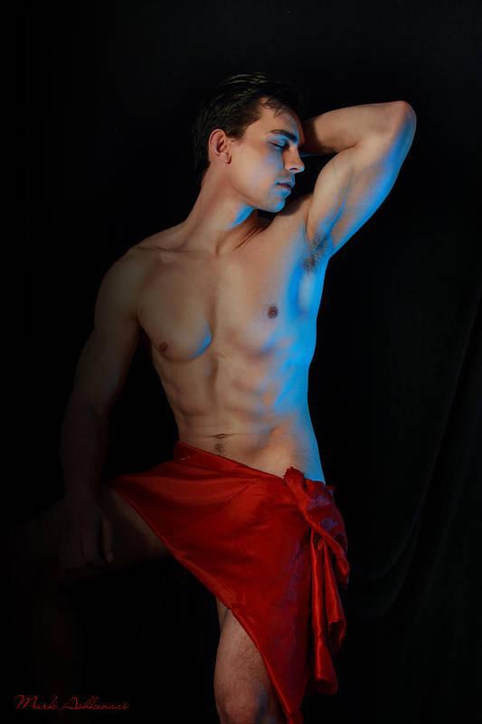 Male Nude Art Print featuring the photograph Para Amar Segundo by Mark Ashkenazi