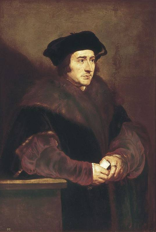 Vertical Print featuring the photograph Rubens, Peter Paul 1577-1640. Thomas by Everett