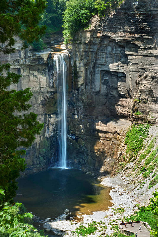 Taughannock Falls Print featuring the photograph Taughannock Falls by Christina Rollo