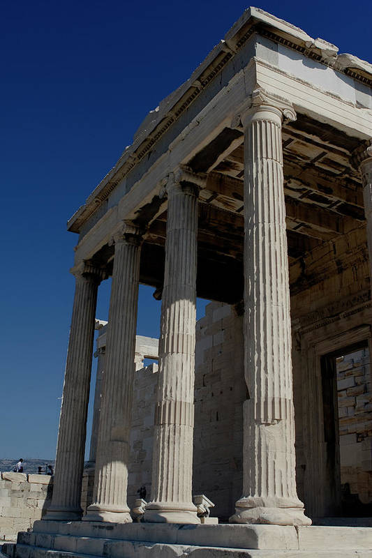 Acropolis Print featuring the photograph Temple Of The Athena Nike by Lorraine Devon Wilke