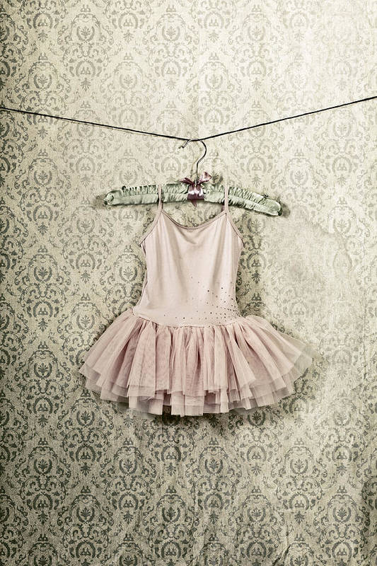 Tulle Print featuring the photograph Ballet Dress by Joana Kruse