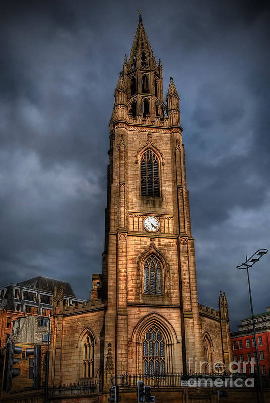 Yhun Suarez Print featuring the photograph Church Of Our Lady - Liverpool by Yhun Suarez