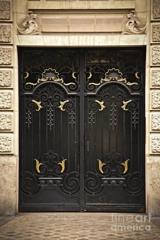 Door Print featuring the photograph Doors by Elena Elisseeva