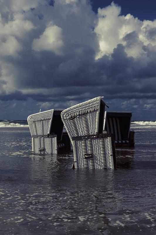 Beach Print featuring the photograph Flood by Joana Kruse