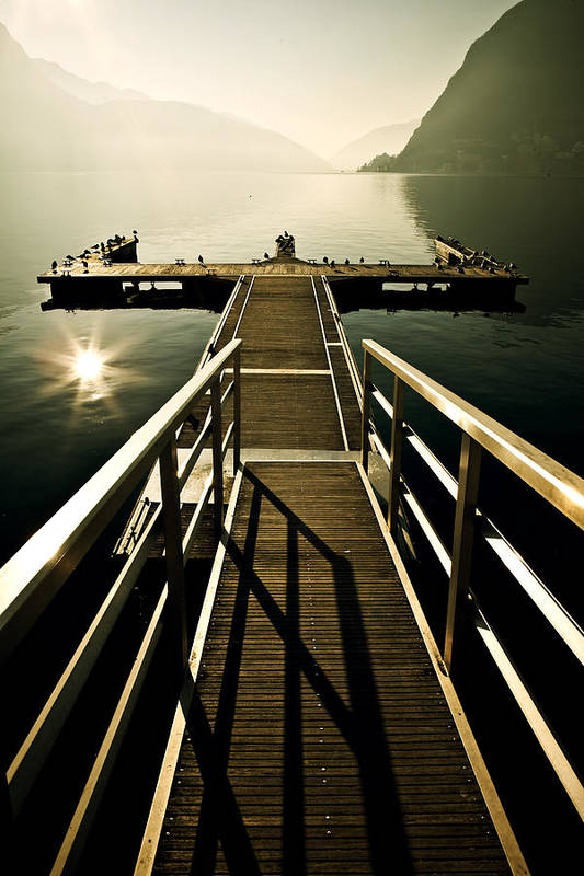 Dock Print featuring the photograph Jetty by Joana Kruse