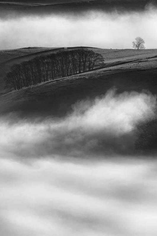 Peak District Print featuring the photograph Peak District Landscape by Andy Astbury
