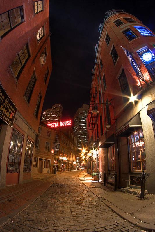 Joshua Ball Ballmultimedia.com Ballmultimedia Print featuring the photograph Boston Street by Joshua Ball