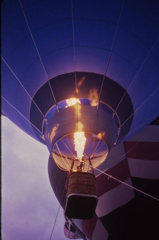 Tennessee Print featuring the photograph Hot Air Balloon - 2 by Randy Muir