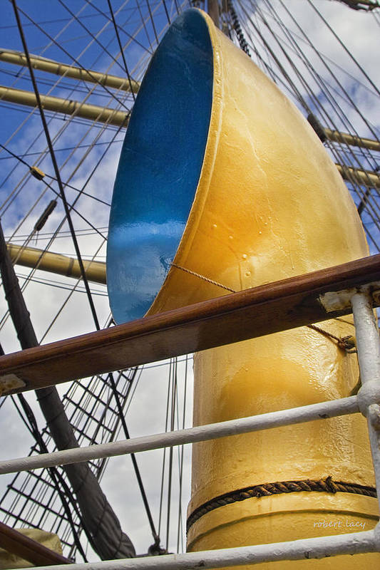 Tall Ships Print featuring the photograph Tall Ship by Robert Lacy