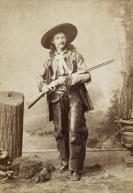 1880s Print featuring the photograph Cowboy, 1880s by Granger