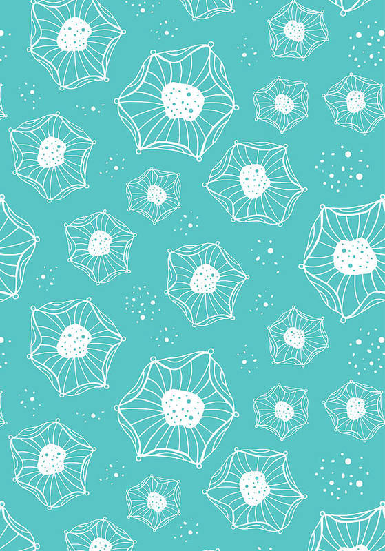 Susan Claire Print featuring the photograph Sea Flower by Susan Claire