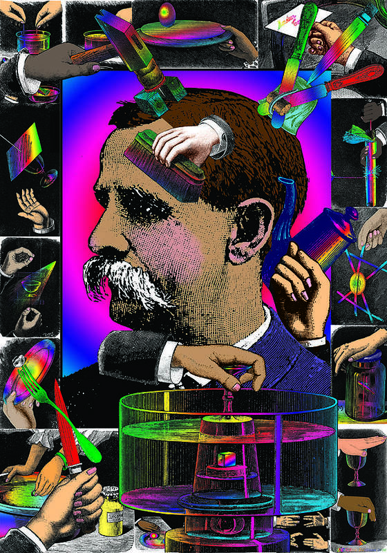 Hands Print featuring the digital art Manipulation by Eric Edelman