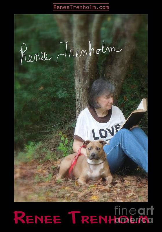 Autographed Print featuring the photograph Renee Trenholm . Signed by Renee Trenholm