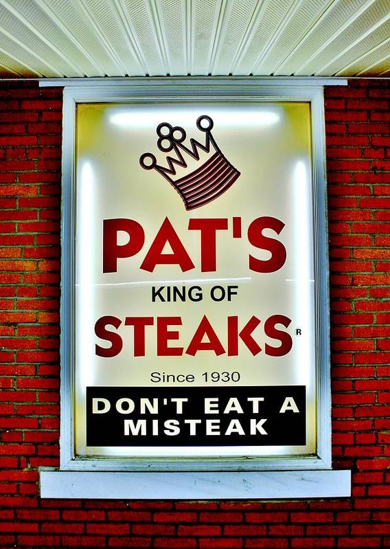 Pats Print featuring the photograph No Misteaks by Benjamin Yeager