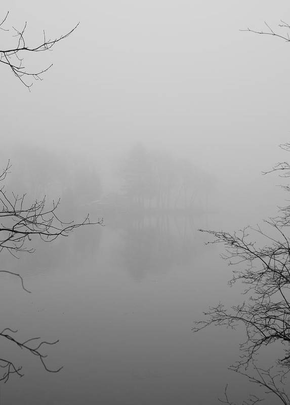 Foggy Print featuring the photograph Simple Pleasures by Luke Moore