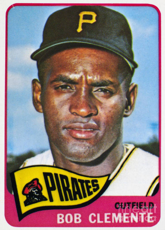 1965 Print featuring the photograph Roberto Clemente by Granger