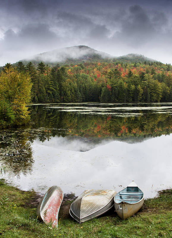 Adirondack Print featuring the photograph Flavor Of The Adirondacks by Brendan Reals
