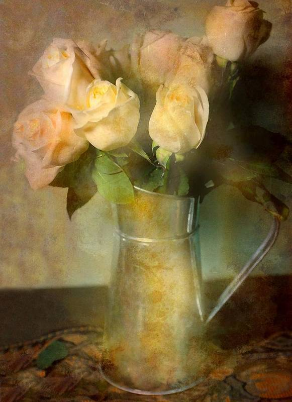 Still Life Print featuring the photograph Ti Amo by Diana Angstadt