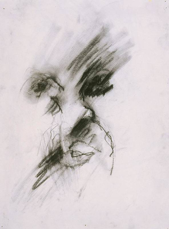 Fine Art Print featuring the drawing Untitled by Iris Gill