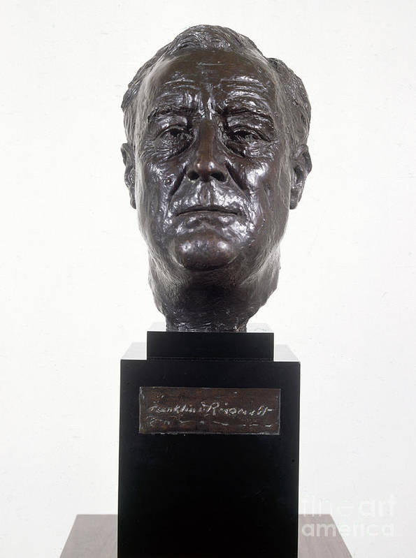 1934 Print featuring the photograph Franklin D. Roosevelt by Granger