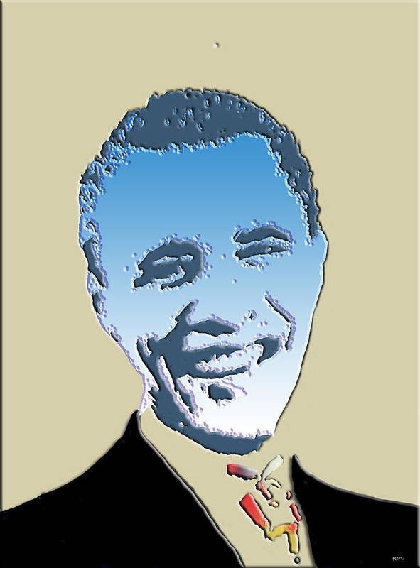 Mr.president Print featuring the photograph Hail To The Chief by Robert Margetts