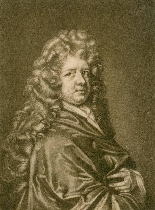 History Print featuring the photograph Thomas Betterton C. 1635-1710, Leading by Everett