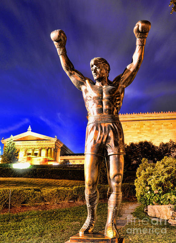 Rocky Print featuring the photograph Rocky by Paul Ward