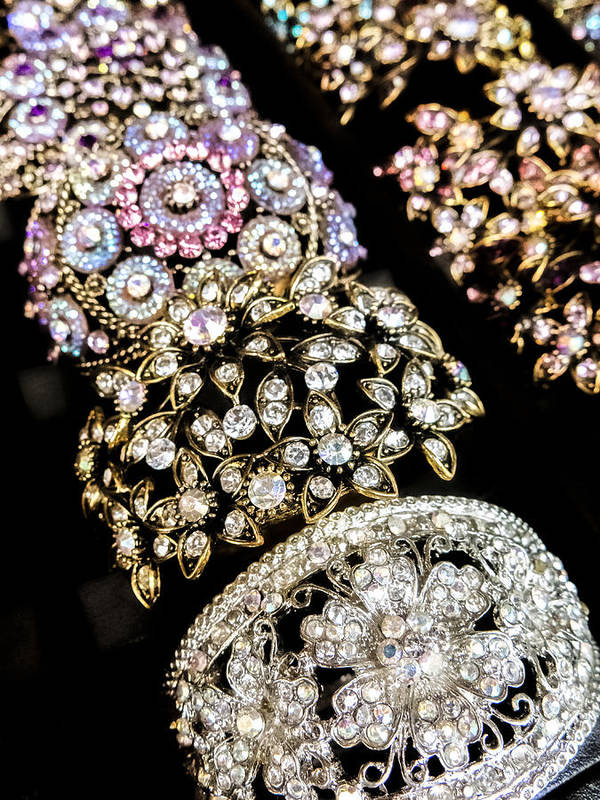 Bling Print featuring the photograph All That Glitters by Caitlyn Grasso