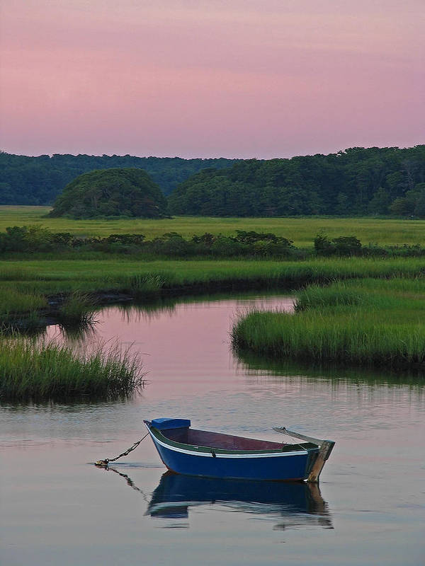 Solitude Print featuring the photograph Idyllic Cape Cod by Juergen Roth