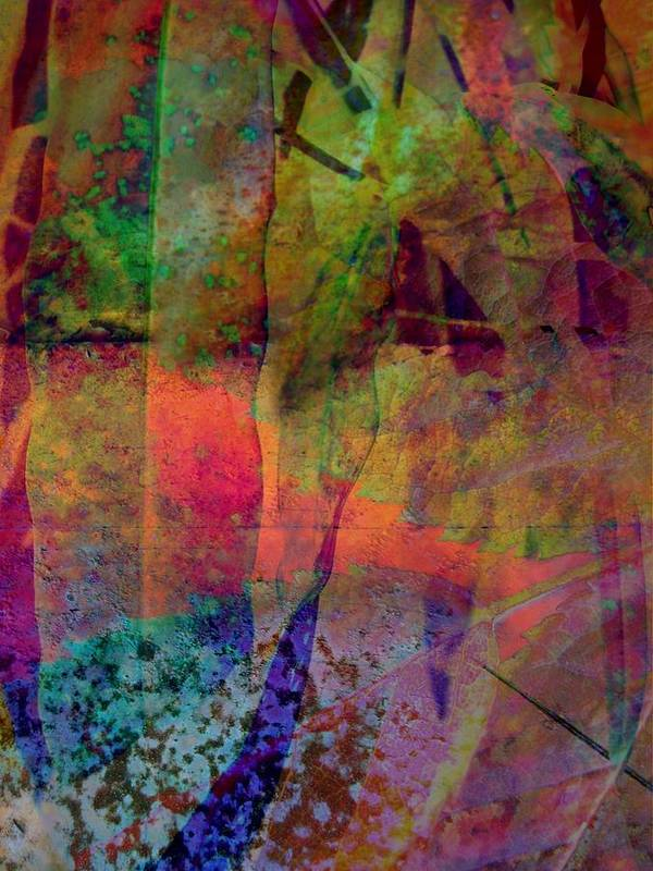 Abstract Print featuring the photograph Inside Autumn by Shirley Sirois