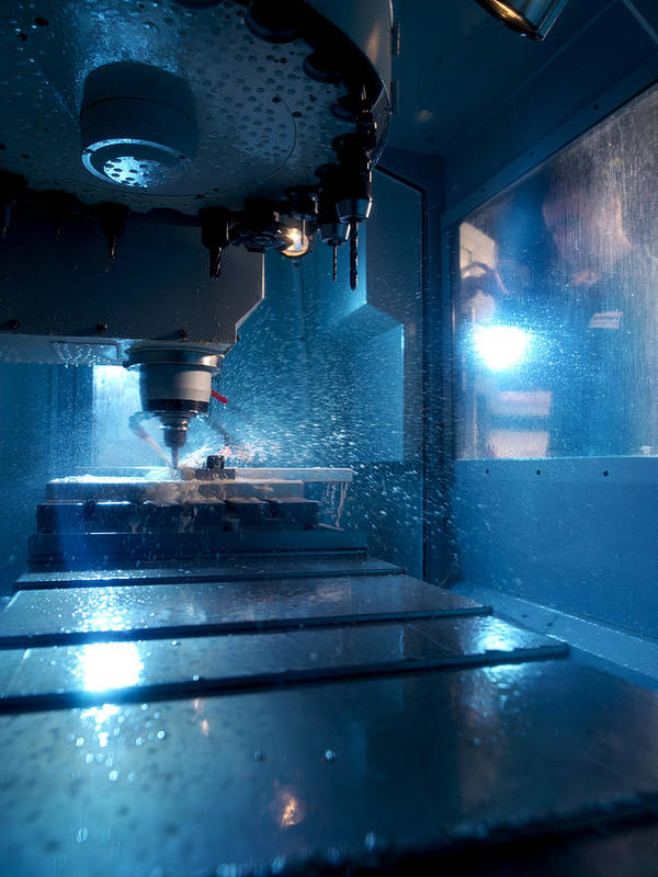 Human Print featuring the photograph Metalwork by Tek Image