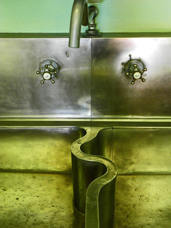 Sink Print featuring the photograph The Sink by Elizabeth Hoskinson