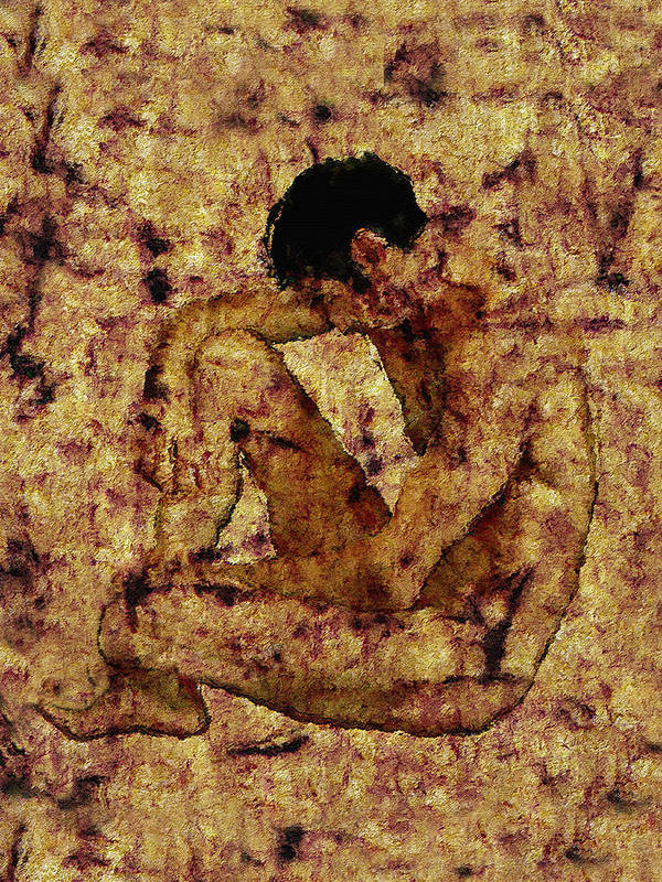 Nude Print featuring the photograph Transition by Kurt Van Wagner