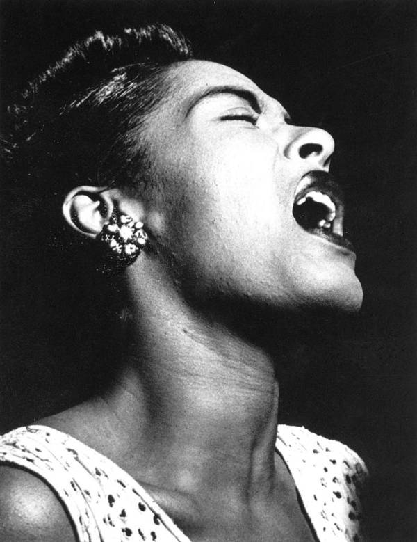 1948 Print featuring the photograph Billie Holiday (1915-1959) by Granger