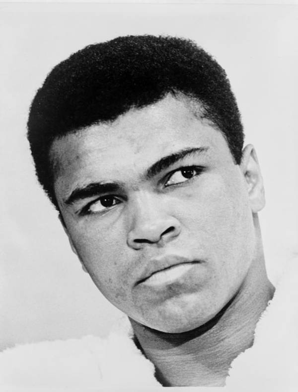 Muhammad Ali Print featuring the photograph Muhammad Ali 1967 by Mountain Dreams