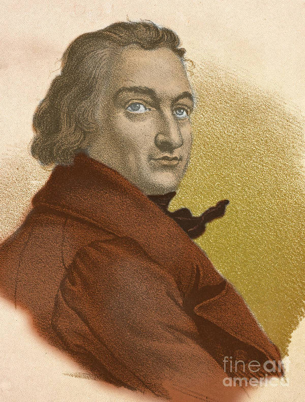 Science Print featuring the photograph Claude-louis Berthollet, French Chemist by Science Source