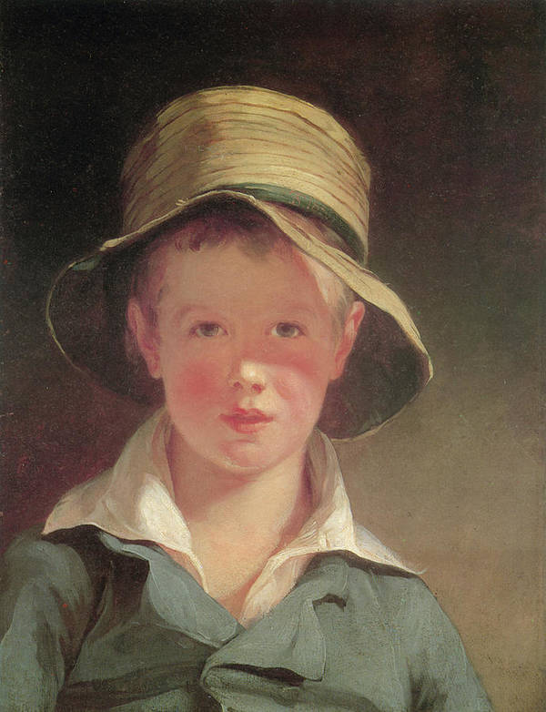 Thomas Sully Print featuring the painting The Torn Hat by Thomas Sully