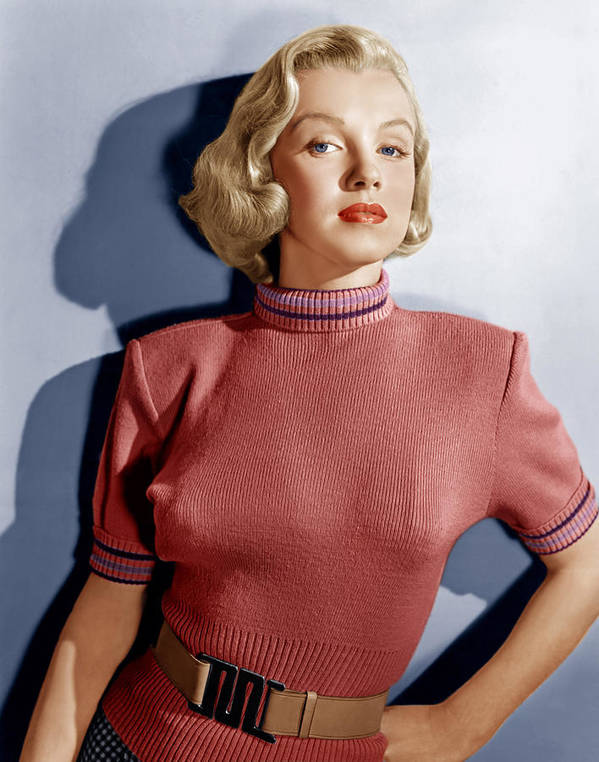 1950s Fashion Print featuring the photograph Home Town Story, Marilyn Monroe, 1951 by Everett