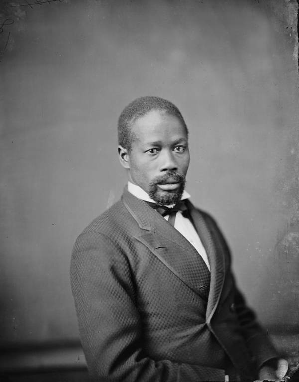 1880s Print featuring the photograph Portrait Of An African American Man by Everett