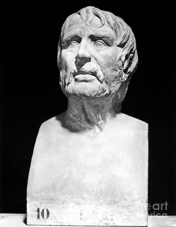 1st Century Print featuring the photograph Lucius Annaeus Seneca by Granger