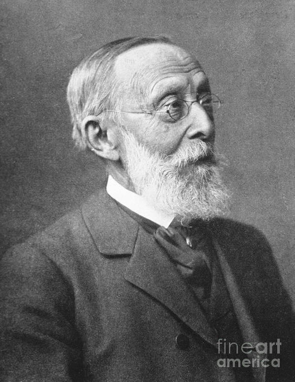 Science Print featuring the photograph Rudolph Virchow, German Polymath by Science Source