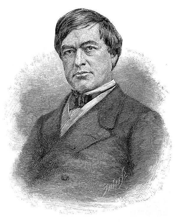 19th Century Print featuring the photograph Cassius Clay (1810-1903) by Granger